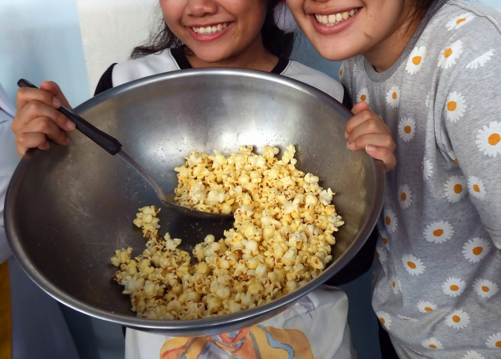 how to make popcorn in a pot
